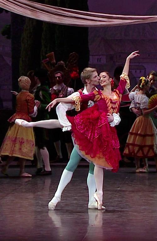 Karl Paquette & Dorothée Gilbert, Don Quichotte, chor. R. Noureyev, ONP/POB 18 décembre 2012.