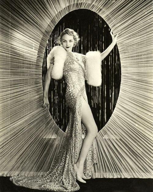 Roaring 20s , show girl, gown, starburst, glamour, glamorous, black and white