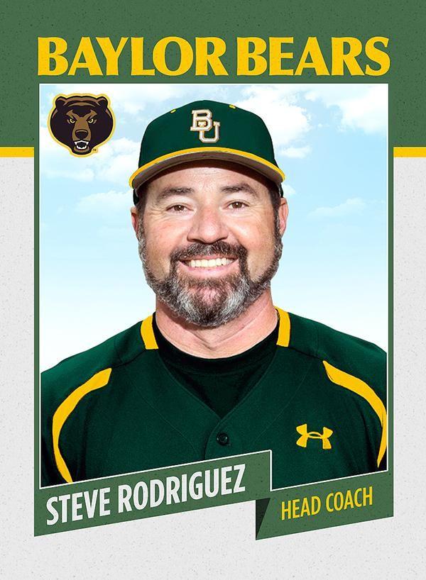Say hello to new Baylor baseball coach Steve Rodriguez.