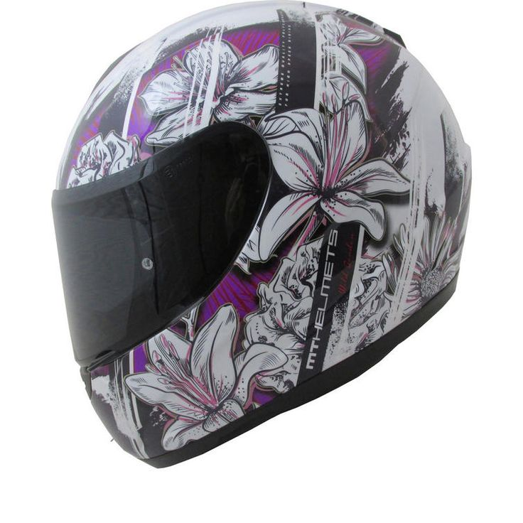 MT Thunder Wild Garden Kids Motorcycle Helmet: The MT Thunder Wild Garden Junior Motorbike Crash Lid is packed with features...…