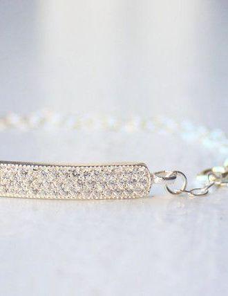 Bridal Bracelet / Crystal Bracelet / Wedding
