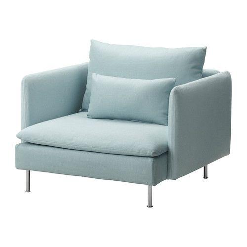 SÖDERHAMN Fauteuil IKEA De diverse onderdelen van de zitmeubelserie kunnen op meerdere manieren aan elkaar worden gekoppeld of los worden gebruikt.