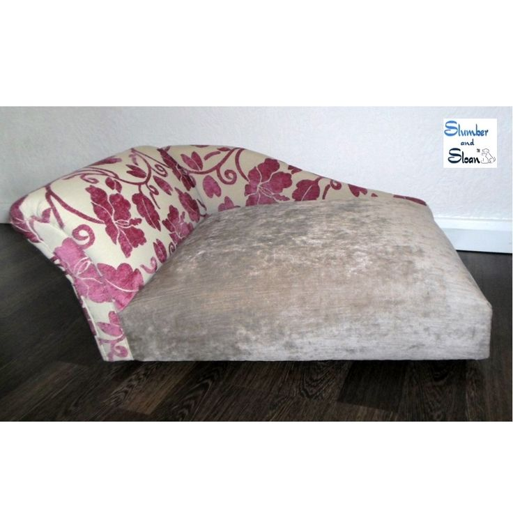 Slumber lounge chaise longue style dog bed dog heaven for Cat chaise longue