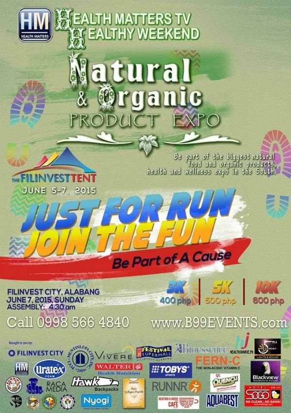 Running Event: Just For Run, Join The Fun | Health Junkie