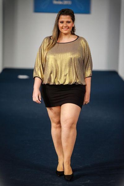 Marca Milanina apresenta coleção Teen no Fashion Weekend Plus Size