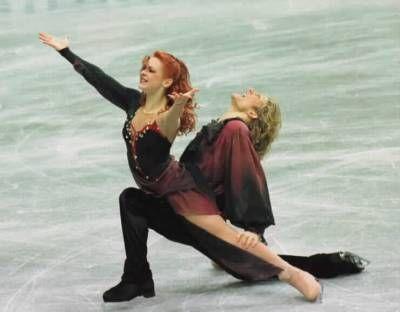 Marina Anissina & Gwendal Peizerat,Ice Dancing costume inspiration for Sk8 Gr8 Designs