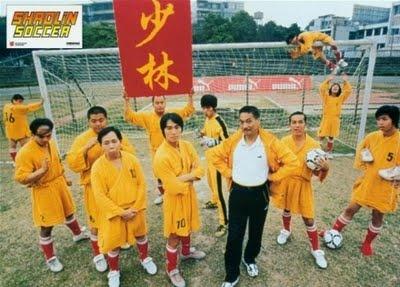 Shaolin soccer, funny...