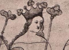 Guta Habsburská, manželka Václava II.