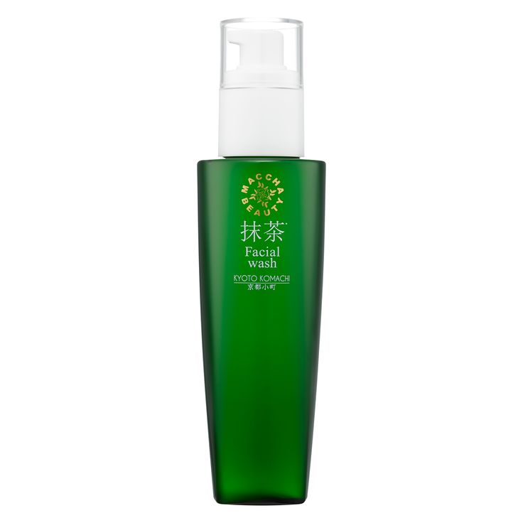 MATCHA BEAUTY Facial wash (Face wash)  150ml  The cushion-enriched bubble with Matcha extracts gently and thoroughly washes off dead skin including oxidation of sebum and melanin.  | 抹茶美人 フェイシャルウォッシュ(洗顔料)150ml  抹茶成分配合のクッション泡が酸化した皮脂やメラニンを含む古い角質をしっかり洗い上げます。