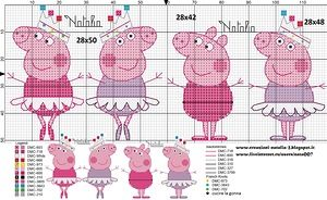 Фото «Peppa Pig ballerina» автора Creazioni-Natalia на Яндекс.Фотках