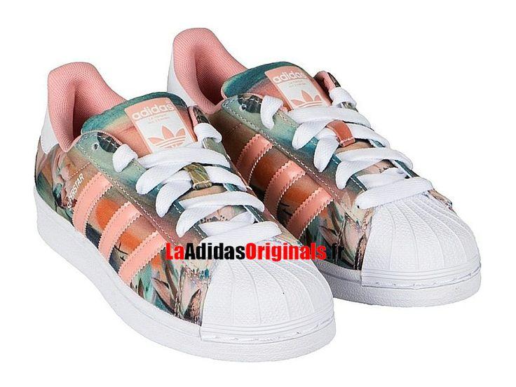 Adidas Originals Superstar 80s - Chaussure Pas Cher Pour Homme/Femme Rouge/Blanc B35832-Boutique Adidas Originals de Running (FR) - LaAdidasOriginals.fr