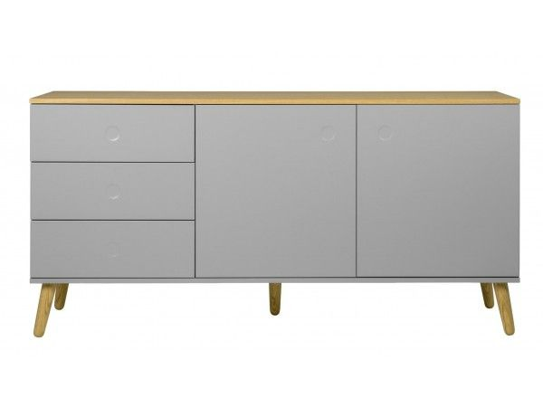 Trend Scandi Sideboard Medium Grau