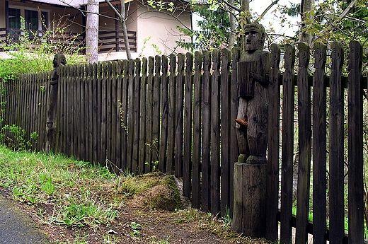 Szklarska Poręba - góralski płot
