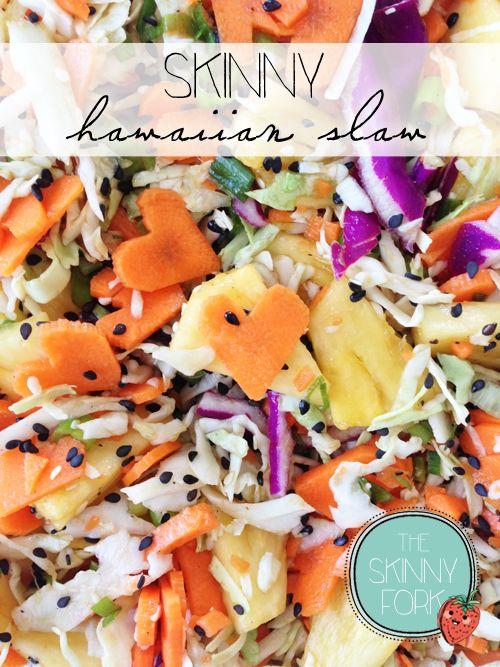 Skinny Hawaiian Slaw — The Skinny Fork