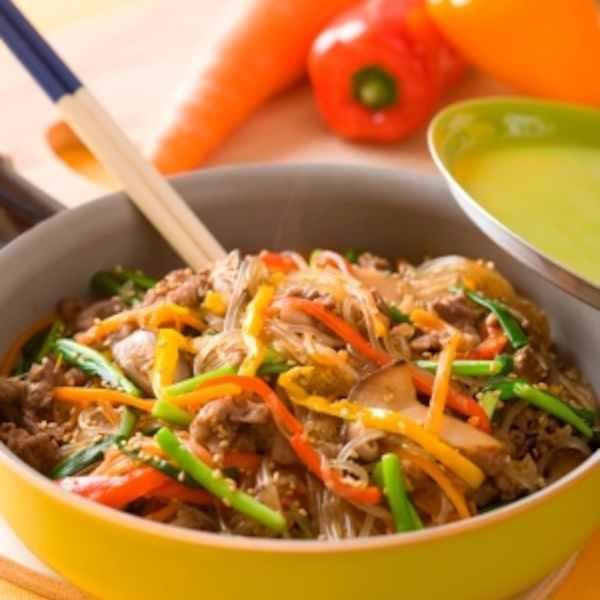フライパンひとつで本格韓国料理 チャプチェ