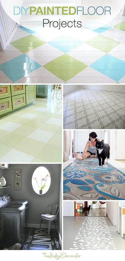 DIY Painted Floor Projects • Ideas & Tutorials!
