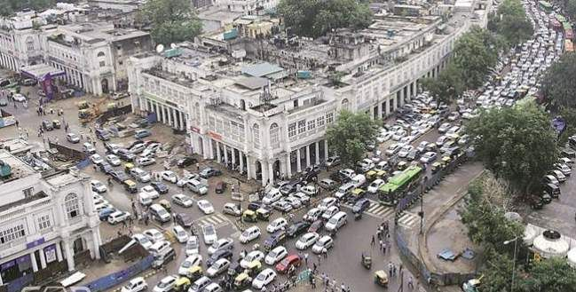 No Entry for Cars in CP (Delhi) From Feb 2017