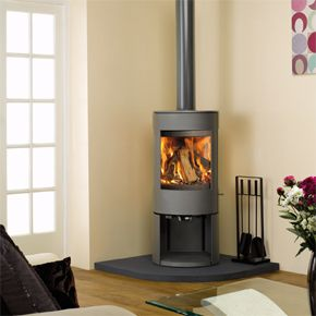 Dovre Astroline 3MF/WB - With sleek and contemporary styling, Dovres new Astroline 3 stove not only offers you an exceptional view of the fire but also a choice of two distinctive variants as well as either woodburning or multi fuel versions of each. The state of the art cleanburn combustion system provides stunning flames within the firebox and these can be seen from more than 180 degrees thanks to the angled glass side panels and the large main window.