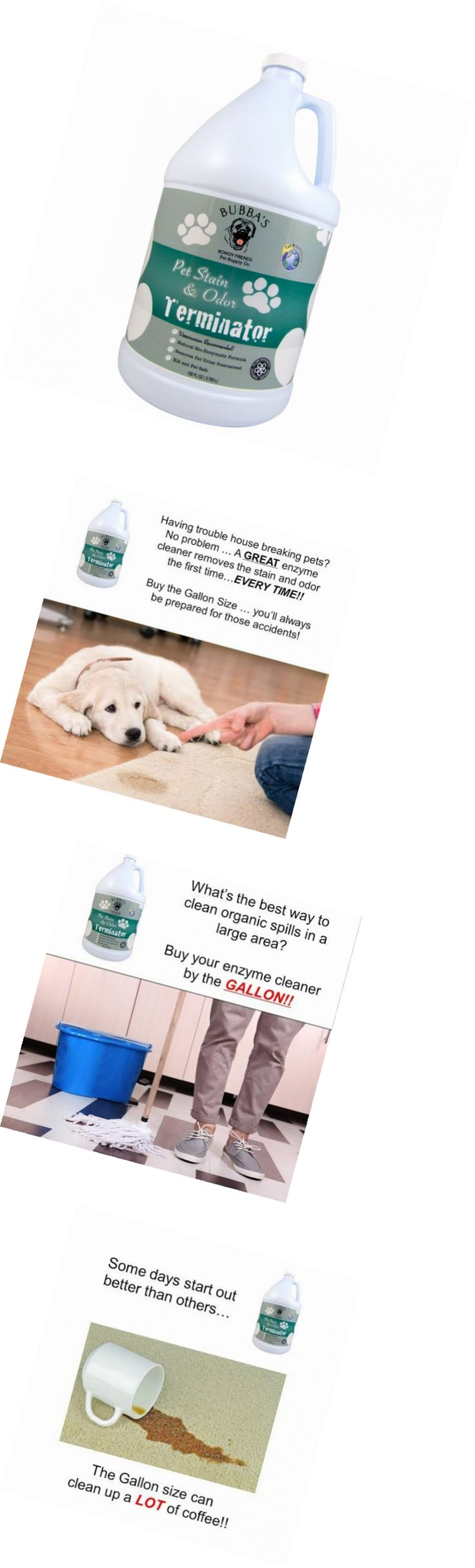 Odor and Stain Removal 134755: Super Strength Commercial Enzyme Cleaner-Pet Odor Eliminator Stain Remover -> BUY IT NOW ONLY: $49.99 on eBay!