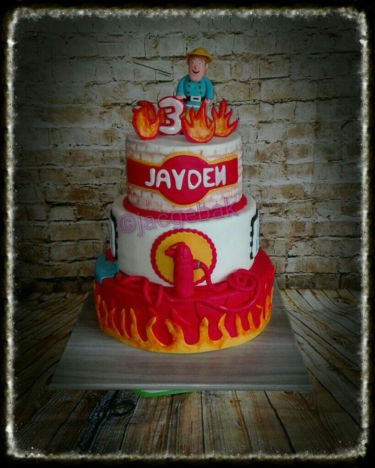 Firemen Sam cake