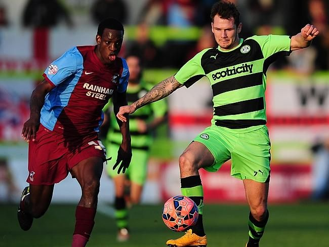 Forest Green Rovers become 'world's first vegan football club'