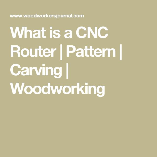What is a CNC Router | Pattern | Carving | Woodworking