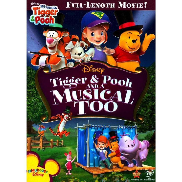 My Friends Tigger and Pooh: Tigger and Pooh and a Musical Too