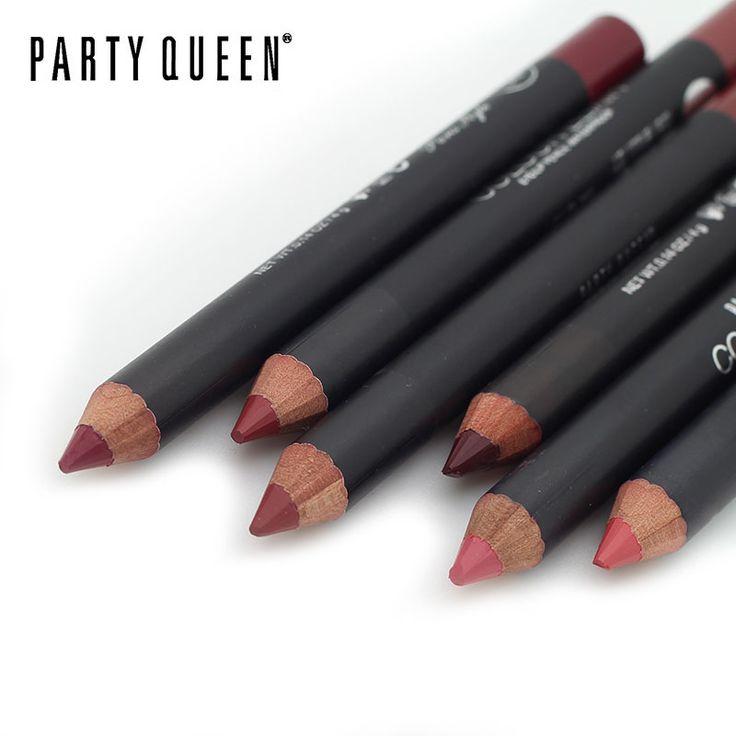 1 pcs Multicolor Partai Ratu Fungsional Alis Mata Pensil Bibir Lip Makeup Tahan Air Colorful Kosmetik Liner Pen