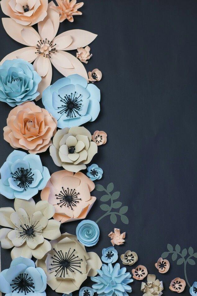 Paper flowers from Flowartdecor  #papírvirág #paperflower #flowartdecor