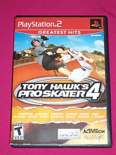 Tony Hawks Pro Skater 4 - PS2 Skatboard Game - Sony PlayStation 2 COMPLETE 2002