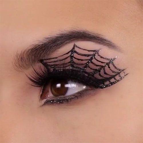 20+ idées de maquillage d'oeil de Halloween et cherche des filles et des fe…