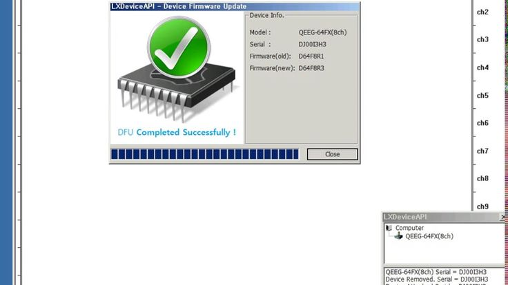 LXDeviceAPI Device Firmware Update