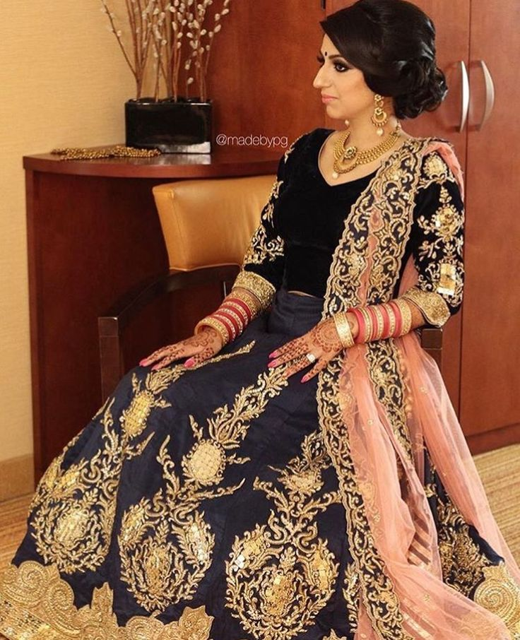Royal Regal And Classy Describe Our Beautiful Client Sharans Reception Lehenga