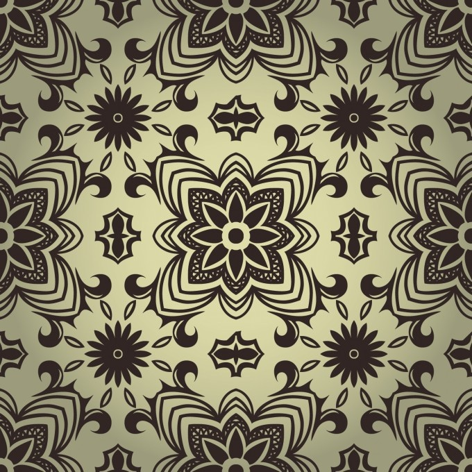 24 best flowers images on pinterest patterns backgrounds and download powerpoint template high quality design black and white seamless pattern template for 1600 toneelgroepblik Images
