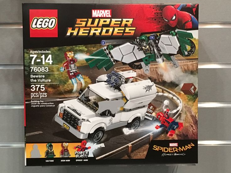 LEGO Spider-Man Homecoming Sets Revealed! – The Brick Show