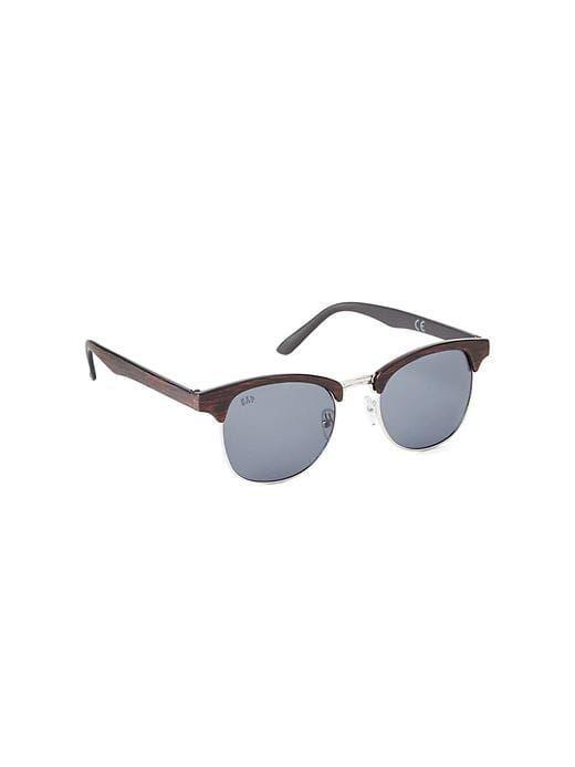 Gap Boys Faux Wood Retro Sunglasses Wood Grain Size One Size