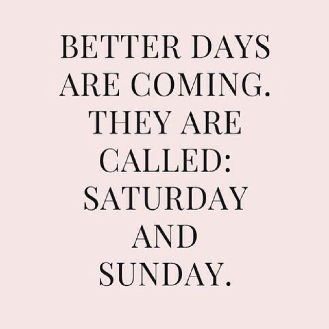 Happy Weekend! #saturday #sunday #quotes