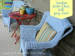 spray paint cane furniture - Google Search
