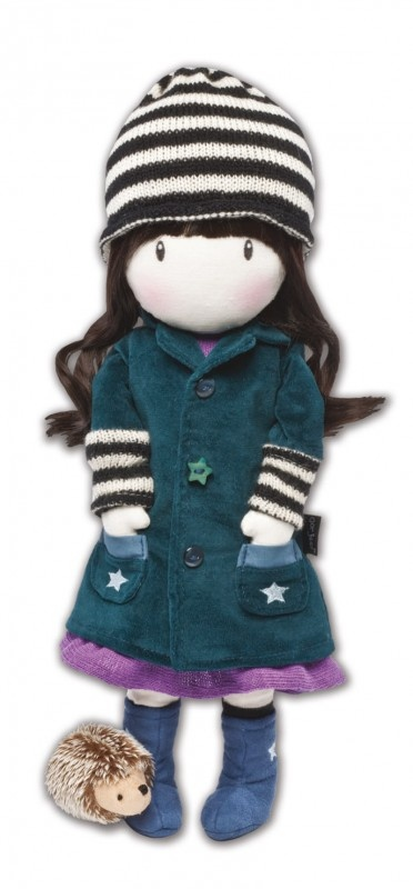 Gorjuss Special Edition Cloth Doll - Toadstools