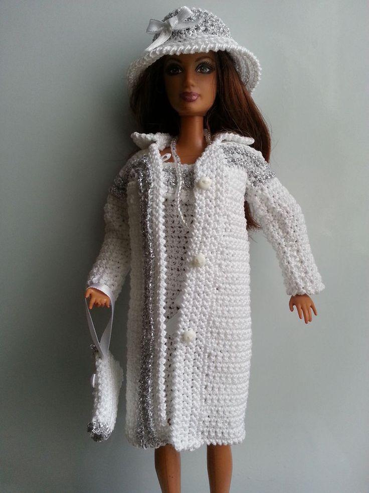 1000 id es sur le th me crochet barbie clothes sur. Black Bedroom Furniture Sets. Home Design Ideas