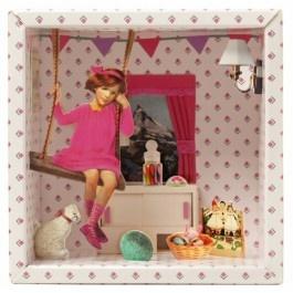 Storybox de- soort kijkdoos voor aan de muur. Leuk!!!