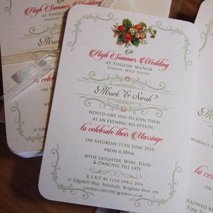 22 best Wedding Invitations images on Pinterest Wedding stationery