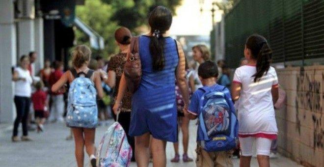 Casi un tercio de las familias numerosas vive con menos de 1.500 euros al mes