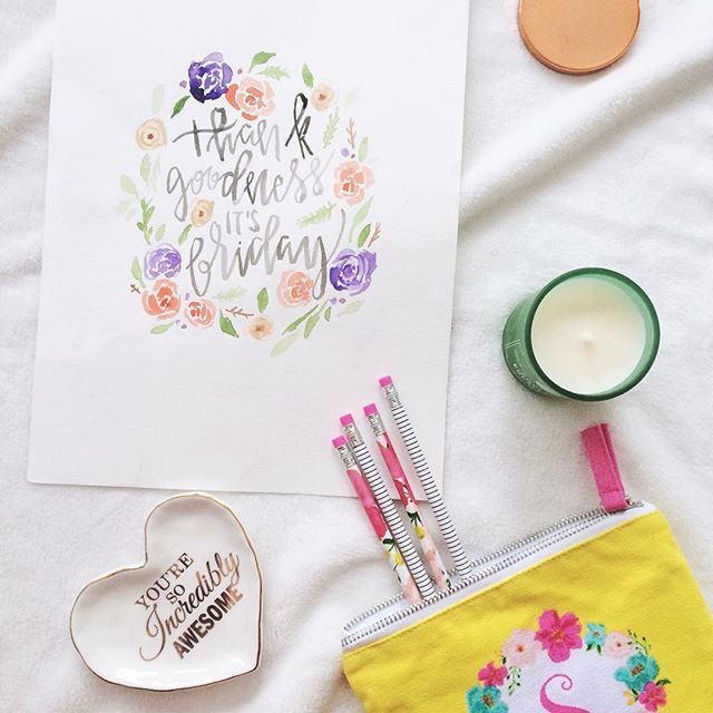 Thank goodness it's Friday!! 🌸🌿💕☀️ It's the Family Day Long Weekend here in Ontario and I can't wait to spend it unwinding with my husband! What are your plans for the weekend? . . . . . #pregnant #mommytobe #flatlay #flashesofdelight #calligraphy #moderncalligraphy #lettering #handletter #handwritten #typography #darling #christian #illustration #togetherweletter #calligrabasics #30daysofbiblelettering #typespire  #typematters #sheinspiresothers #letteringleauge #watercolor…