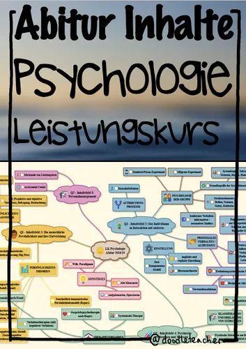 Psychologie Abitur