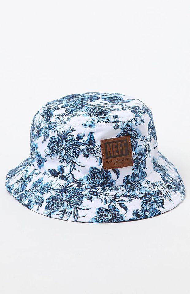 Neff Prime Bucket Hat - Mens Backpack - White - One