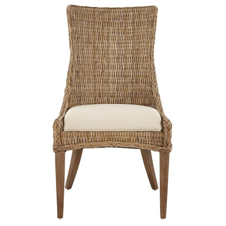 home depot wicker dining chairs