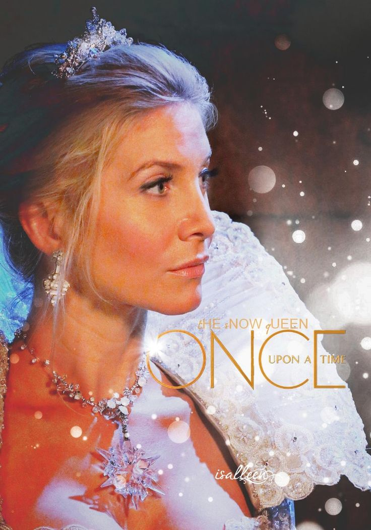 My fave story line on #OUAT Elizabeth Mitchell is the Snow Queen #OnceIsFrozen