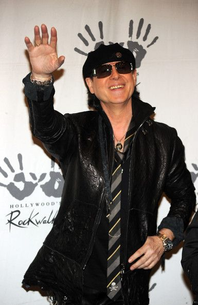 Klaus Meine Photos - Singer Klaus Meine of The Scorpions are Inducted On Hollywood's RockWalk on April 6, 2010 in Los Angeles, California. - The Scorpions Are Inducted On Hollywood's RockWalk