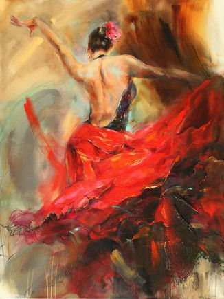 Spanish Heat a limited edition print by Anna Razumovskaya